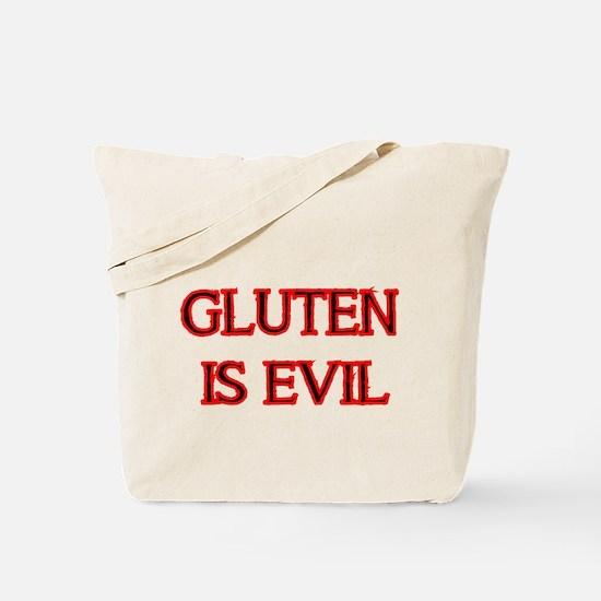 GLUTEN IS EVIL 2 Tote Bag