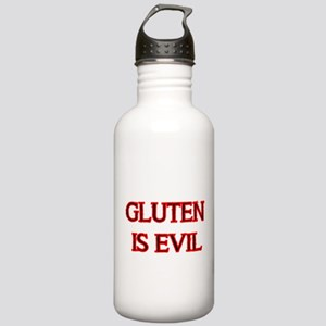 GLUTEN IS EVIL 2 Water Bottle