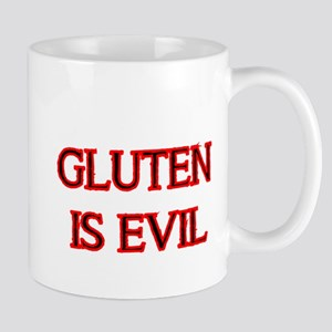 GLUTEN IS EVIL 2 Mug