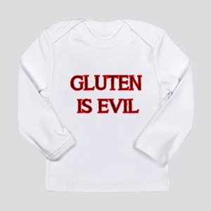 GLUTEN IS EVIL 2 Long Sleeve T-Shirt