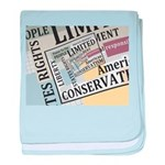 Limited Government baby blanket