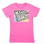 Limited Government Girl's Tee