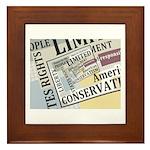 Limited Government Framed Tile