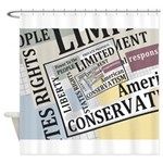 Limited Government Shower Curtain