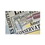 Limited Government Rectangle Magnet (100 pack)