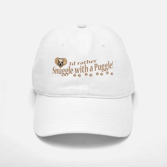 Snuggle Puggle Baseball Baseball Cap