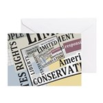 Limited Government Greeting Card