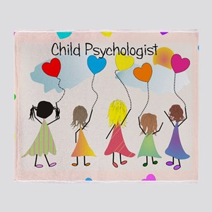 Child psychologist 1 Throw Blanket
