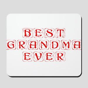 best-grandma-ever-kon-red Mousepad