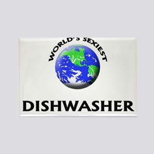 World's Sexiest Dishwasher Rectangle Magnet