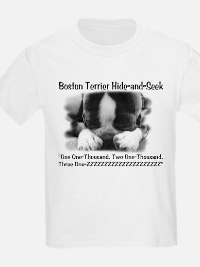 Boston Hide and Seek Kids T-Shirt