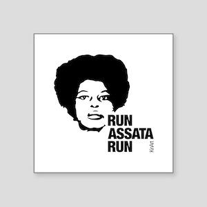 Run Assata Run Sticker