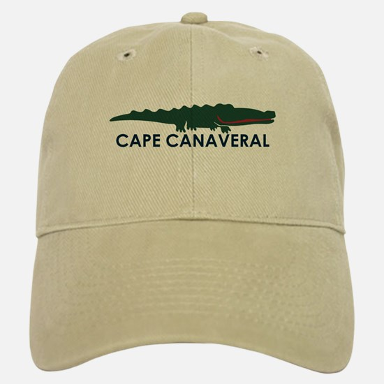 Cape Canaveral - Alligator Design. Baseball Baseball Cap
