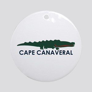 Cape Canaveral - Alligator Design. Ornament (Round