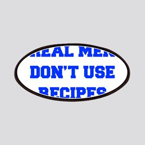 real-men-dont-use-recipes fresh blue Patches