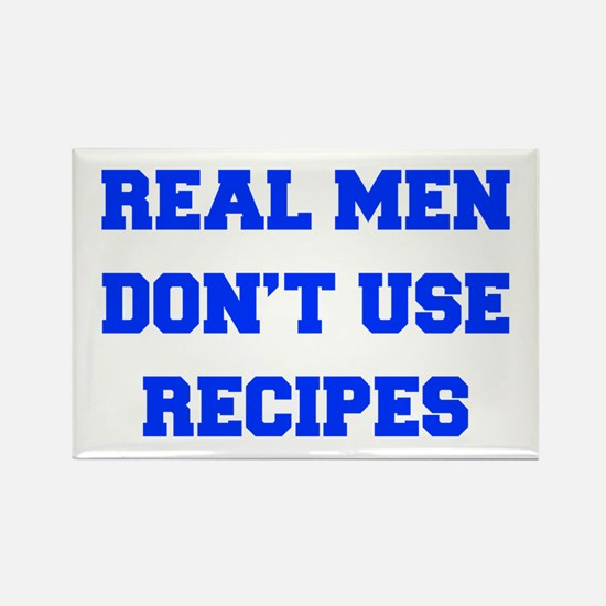 real-men-dont-use-recipes fresh blue Rectangle Mag