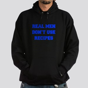real-men-dont-use-recipes fresh blue Hoodie