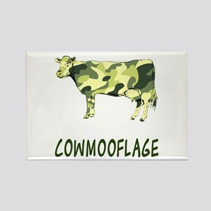 Cowmooflage Rectangle Magnet
