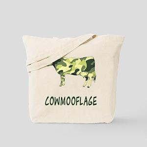 Cowmooflage Tote Bag