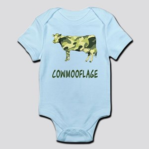 Cowmooflage Infant Bodysuit