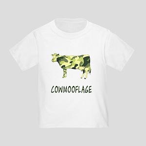 Cowmooflage Toddler T-Shirt