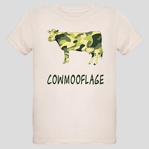 Cowmooflage Organic Kids T-Shirt