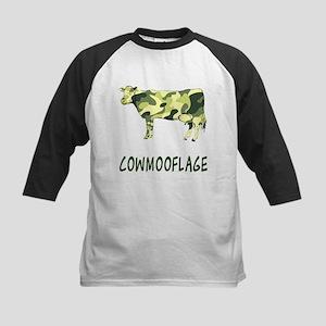 Cowmooflage Kids Baseball Jersey