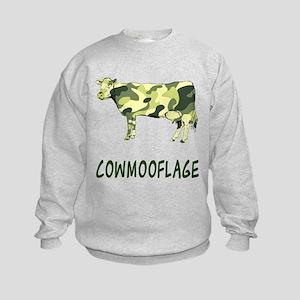 Cowmooflage Kids Sweatshirt