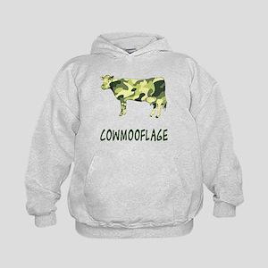Cowmooflage Kids Hoodie