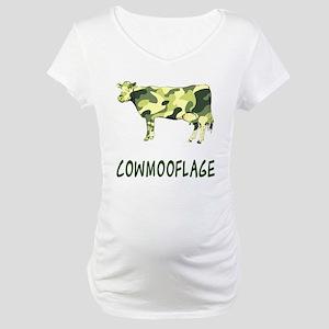 Cowmooflage Maternity T-Shirt