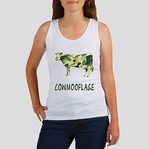 Cowmooflage Women's Tank Top