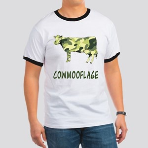 Cowmooflage Ringer T