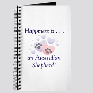 Happiness is...an Australian Shepherd Journal