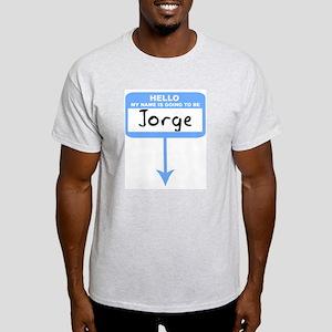 Pregnant: Jorge Ash Grey T-Shirt