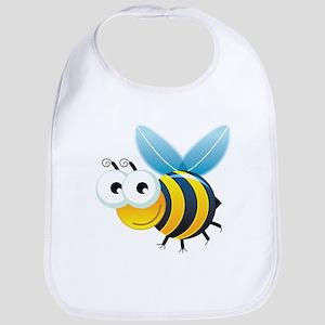 Happy Bee Bib