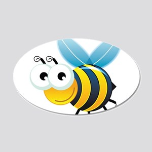 Happy Bee Wall Decal