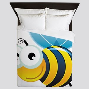Happy Bee Queen Duvet