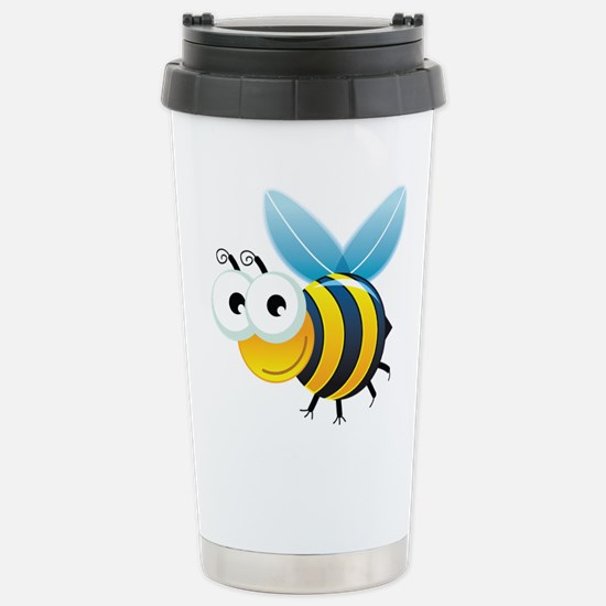 Happy Bee Travel Mug