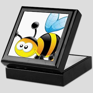 Cartoon Bee Keepsake Box
