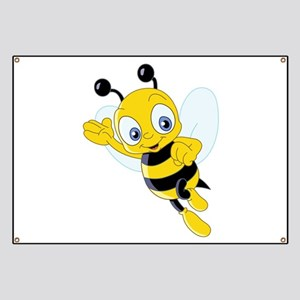 Jumping Bee Banner