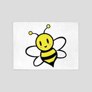 Baby Bee 5'x7'Area Rug