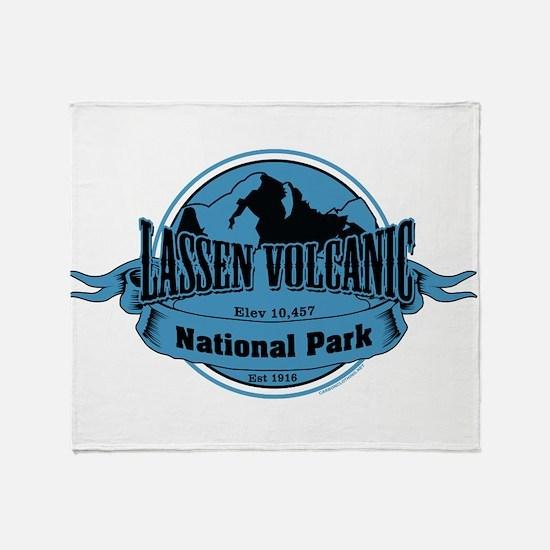lassen volcanic 3 Throw Blanket