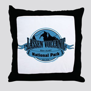 lassen volcanic 3 Throw Pillow