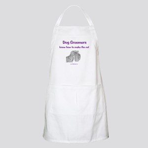 Groomers Make the Cut BBQ Apron
