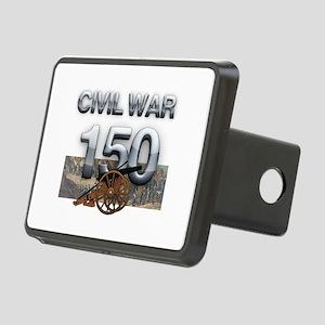 ABH Civil War Rectangular Hitch Cover