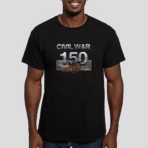 ABH Civil War Men's Fitted T-Shirt (dark)