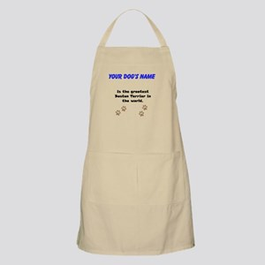 Greatest Boston Terrier In The World Apron