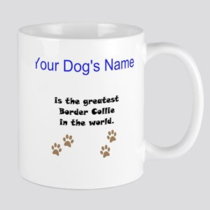 Greatest Border Collie In The World Small Mug