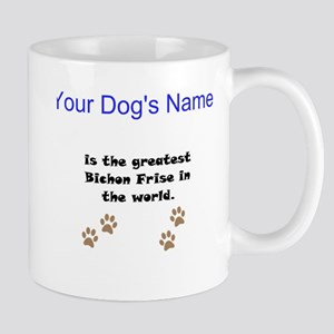 Greatest Bichon Frise In The World Small Mug