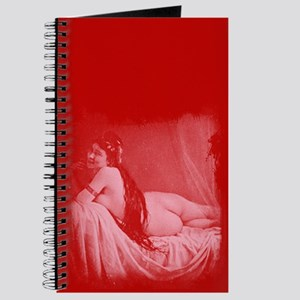 Risque Vintage Valentine Journal